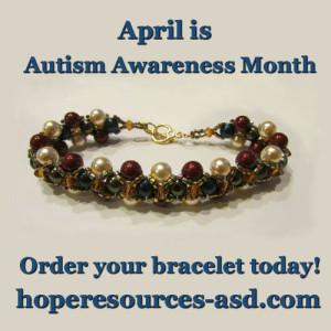 Autism Bracelet Ad