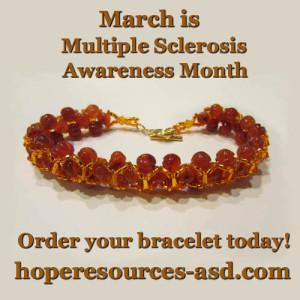 Multiple Sclerosis Bracelet Ad